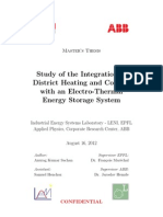 Study of the Integration of District Heating and Cooling With an Electro-Thermal