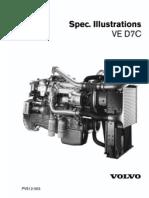 Volvo ve d7c engine