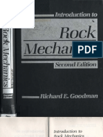 Goodman R E - Introduction to Rock Mechanics 2nd Edition