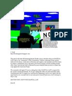 Martial Law Survival Guide
