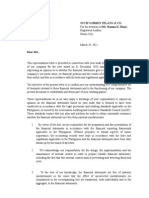 Management Representation Letter