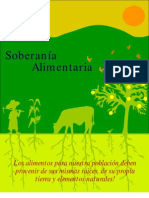 Folleto soberanía alimentaria
