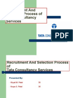TCS-Recruitment and Selection