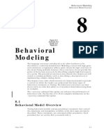 Behavioral Modelling
