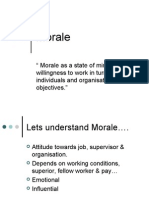 Morale & Employee Turnover