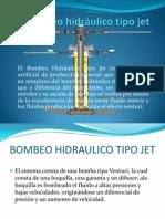 Bombeo hidráulico tipo jet