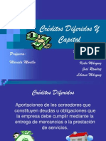 Créditos Diferidos Y Capital