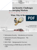 Information Security Challenges in Emerging Market