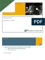 World Tour - SAP BPC