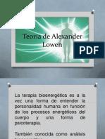 Teoría de Alexander Lowen