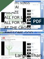 YFC SONGS