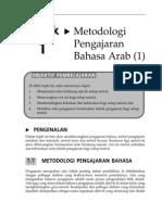 Topik 1 Metodologi Pengajaran Bahasa Arab (1)