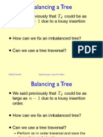 Balanced Trees and Tree Rotations