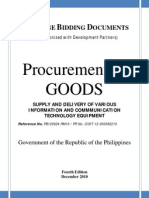bid docs for ict equipment for 2012 pbd goods 4thed