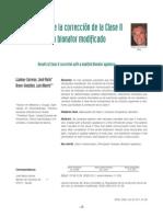Correccion de Clase II Con Bionator Modificado