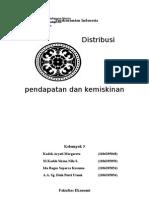 Distribusi Pendapatan Nasional Dan Kemiskinan Ringkas (1)