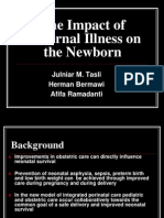 3 the Impact of Maternal Illness on the Newborn Final 1