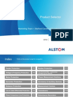 ALSTOM Grid SAS Product Selector August 2010 V5