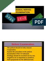 Cranial Nerves Examination
