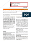 A Nutraceutical Combination Improves Insulin Sensitivity in Patients With Metabolic Syndrome