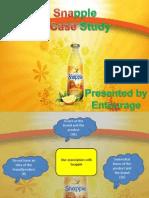 Snapple Case1 Study