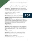 Tim Ferriss the Psychology of Testing