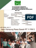 Laporan Diagnosis Komunitas