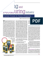Testing Measuring and industry - Current Trends & Future Prospects Author
