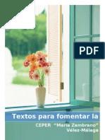 Textos Para Fomentar La Lectura