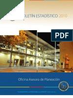 Boletín Estadístico 2010
