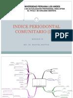 Indice Periodontal Comunitario UPLA
