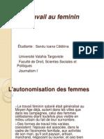 Le travail au feminin2.ppt