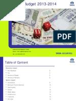 Union Budget 2013-2014_28 Feb'13