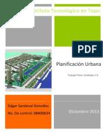 Planificacion Urbana Resumen