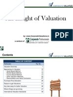 An Insight of ValuationCorporateProfessionals