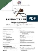 LA PRIVACY E IL MEDICO
