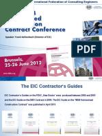 FIDIC 2012 presentation