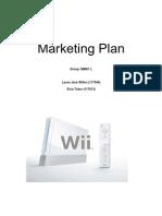 5marketing Plan nintendo