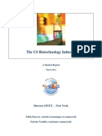 US Biotech Industry Report 2012
