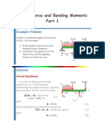 Shear Force and Bending Moments.docx