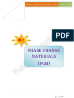 Phase Change Materials(PCM)