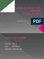 Laporan Jaga IGD_5 vulnus laseratum