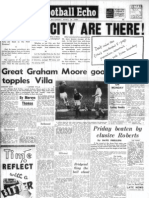 Cardiff City win promotion to the top flight in 1960.