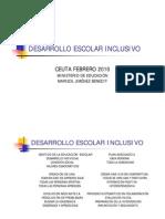 DESARROLLO ESCOLAR INCLUSIVO