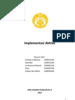 Implementasi-Akhlak