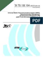 3G Performance Management (PM)