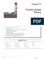Friction Brake Theory