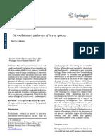 On Evolutionary Pathways of Avena Species