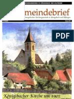 Gemeindebrief 2013 04 Ostern - 10. Ausgabe