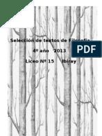 Textos Filosofía 2013